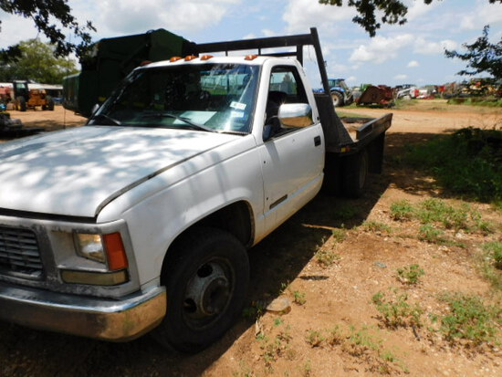 *SOLD*1999 GMC 3500 WITH FLAT BED