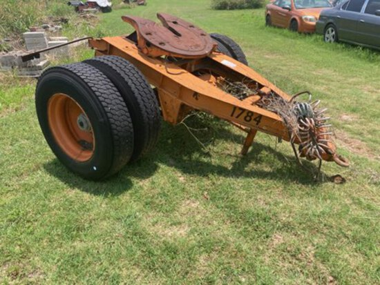 *NOT SOLD*SEMI TRAILER DOLLY