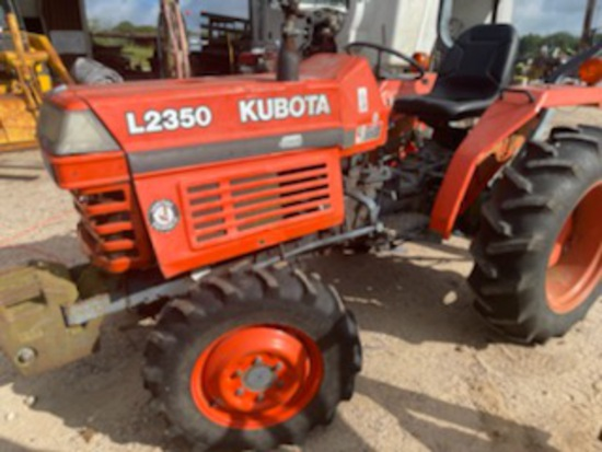 *SOLD* L2350 KUBOTA TRACTOR 4WD AND 4FT SHREDDER