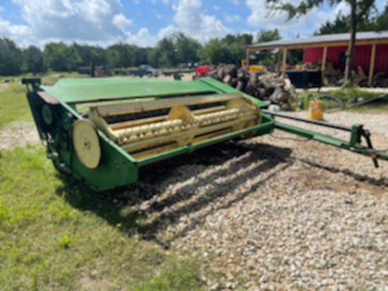*SOLD* 10 ft haymower with hay conditioner rollers real clean always barn stored