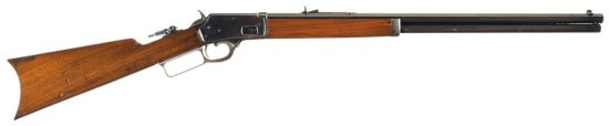 Scarce and Very Fine Marlin Model 1888 Lever Action 44-40 Rifle