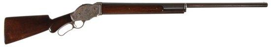 Fine Antique Winchester Model 1887 Lever Action 10 Gauge Shotgun