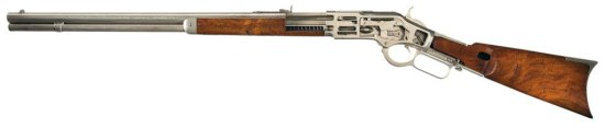 Rare Winchester Model 1873 Cutaway Lever Action Rifle