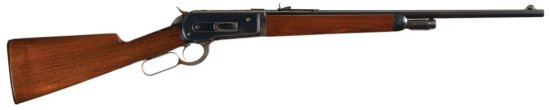Scarce Special Order Antique Winchester Model 1886 Extra Lightweight Takedown Short Rifle with Facto