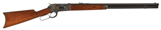 Outstanding Winchester Model 1886 Lever Action Rifle with Casehardened Receiver