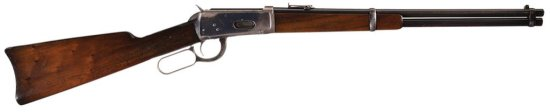 Winchester Model 1894 Lever Action Saddle Ring Carbine in Desirable .38-55 WCF Caliber