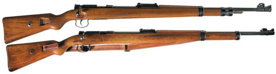 Collector's Lot of Two German Bolt Action Training Rifles -A) Gustloff Werke KKW Bolt Action Trainin