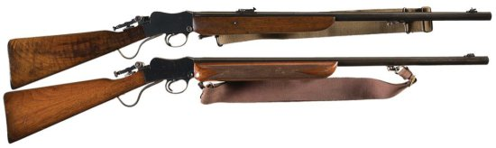 """Collector's Lot of Two Rare Very Early BSA-Martini """"Sporting Rifle"""" -A) Early Special Order No. 6A 2"""