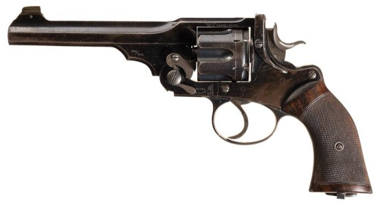 Webley & Scott WG Target Model Double Action Revolver
