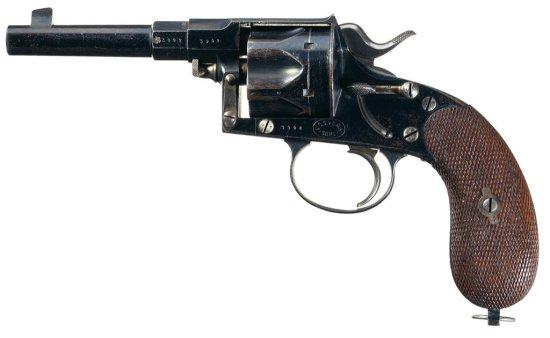 German Schilling & Haenel Model 1883 Single Action Reichs Revolver