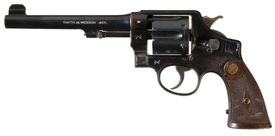 Smith & Wesson Second Model .455 Mark II Hand Ejector Double Action Revolver with British Military M