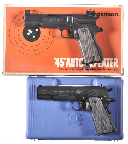 Two Air Pistols