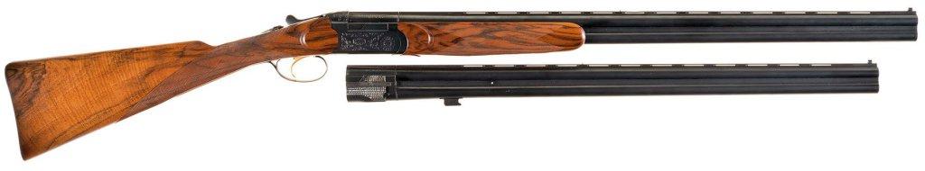 Engraved Beretta BL3 Over/Under 20 Gauge Shotgun