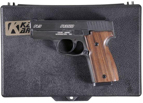 Kahr Arms K9 Pistol 9x19mm |     Auctions Online | Proxibid