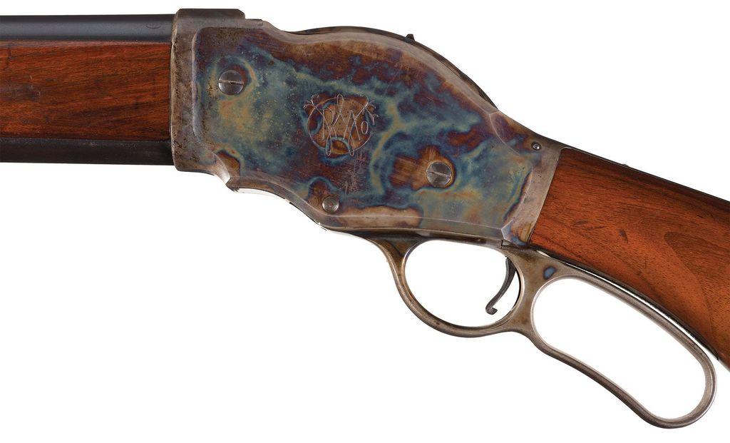 Lot: Winchester Model 1887 Lever Action 10 Gauge Shotgun