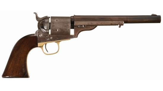 Colt Model 1871-1872 Open Top Single Action Revolver