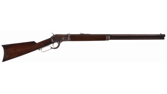 Colt-Burgess Lever Action Rifle with Part-Octagon Barrel