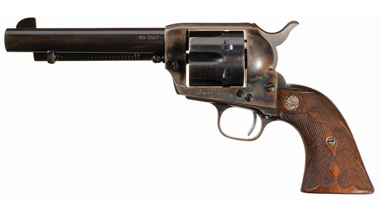 Pre-World War II Colt Single Action Revolver