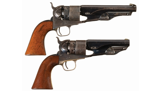 California Pioneer Family's Pair of Colt Model 1860 Revolvers