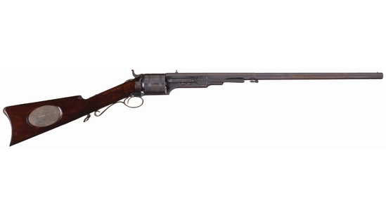 Colt Paterson Model 1839 Carbine Presented by RI Governor