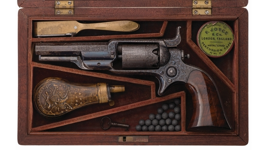 Col. Samuel Colt Presentation Colt Model 1855 Root