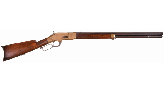 Inscribed Winchester Model 1866 Lever Action Rifle