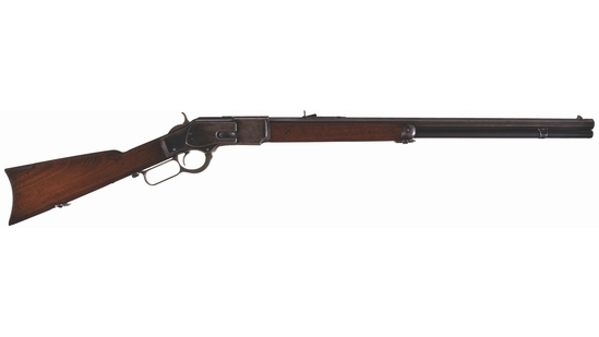 Atlanta Police Winchester Model 1873 Rifle with Letter