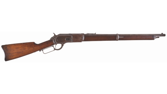 Winchester Second Model 1876 Lever Action Saddle Ring Carbine