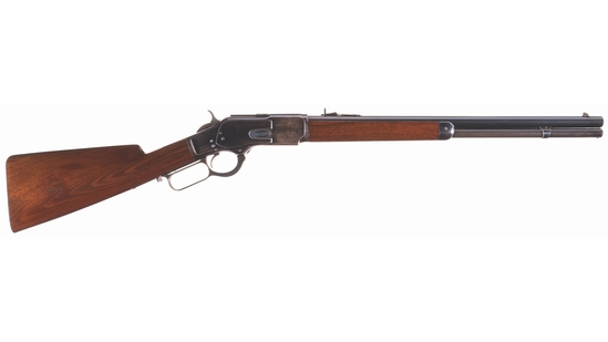 London Retailer Marked Winchester Model 1873 Short Rifle