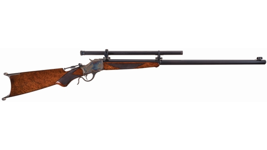 Winchester Special Order High Wall Schuetzen Rifle with A5 Scope