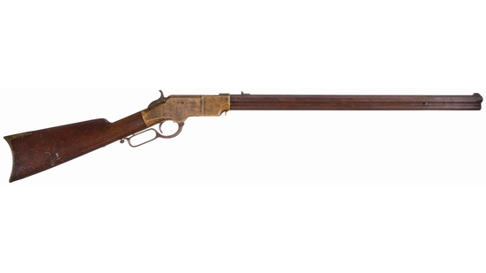 Indian War Veteran John Haag's New Haven Arms Co. Henry Rifle