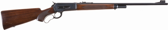 Winchester Deluxe Model 71 Lever Action Rifle