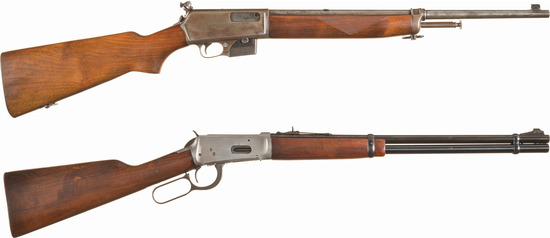 Two Winchester Longarms