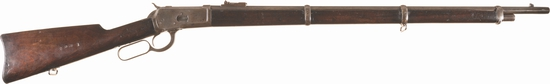 Military Contract Marked Winchester Model 1892 Musket
