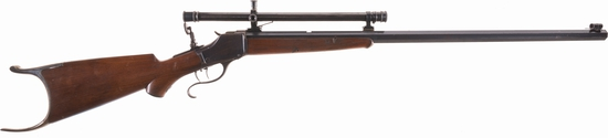 Winchester Model 1885 High Wall Rifle with Winchester A5 Scope