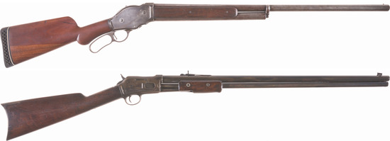 Two American Sporting Long Guns