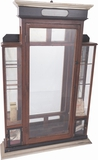 Winchester Mirror-Backed Five-Gun Display Cabinet