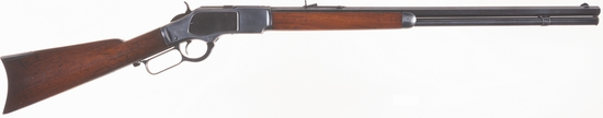 Antique Winchester Model 1873 Lever Action Rifle in .22 Short