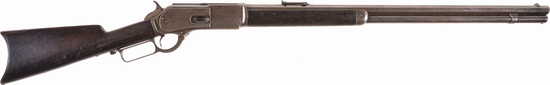 Winchester Second Model 1876 Lever Action Rifle