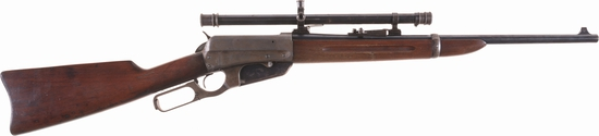 Winchester Model 1895 Lever Action Carbine with A5 Scope