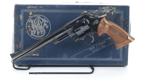 Smith & Wesson Model 57 Double Action Revolver with Box