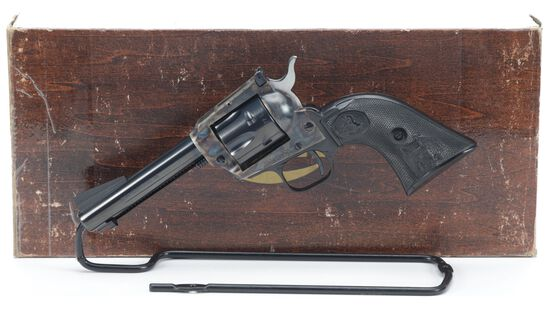 Colt New Frontier Model Single Action Revolver with Box