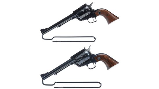 Two Ruger Single Action Revolvers