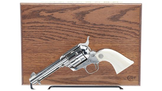 Cased Third Generation Colt Single Action Army Revolver