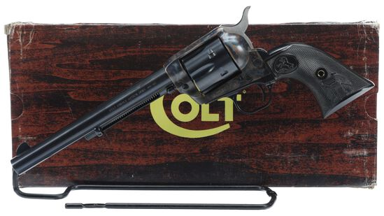 Colt Third Generation Single Action Army Revolver with Box