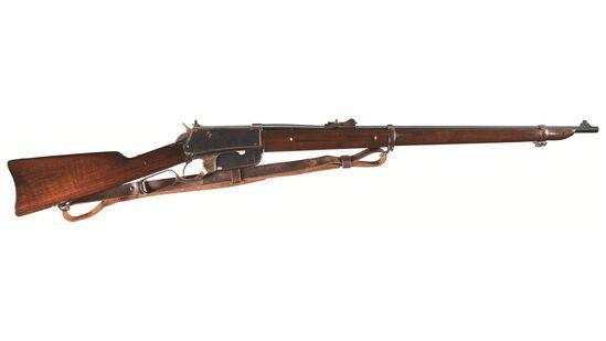 Winchester Model 1895 Flatside Musket