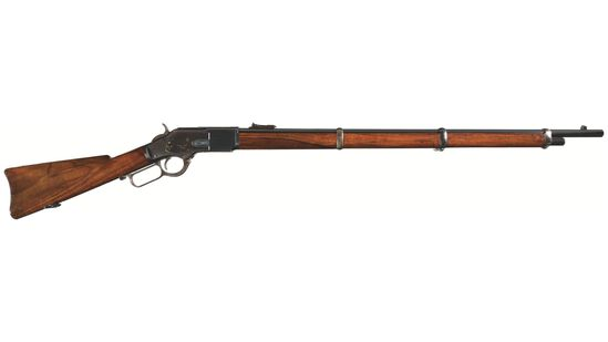 Winchester Model 1873 Lever Action Musket