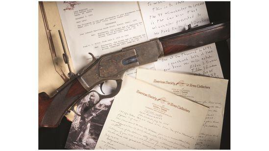Winchester Model 1873 1 of 1000 Rifle & Model 94 Carbine