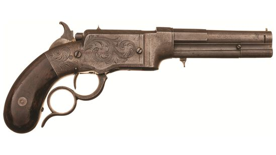 Smith & Wesson No.1 Type I Lever Action Repeating Pistol