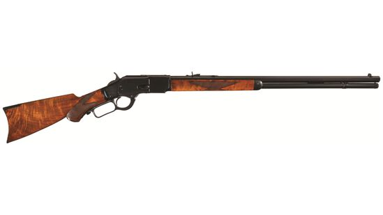Antique Winchester Deluxe Model 1873 Rifle